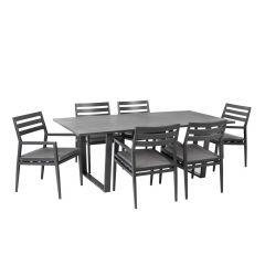 Komplekt PHOENIX laud ja 6 tooli