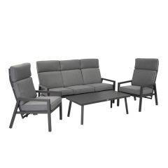 Komplekt CASPER laud, diivan ja 2 tooli