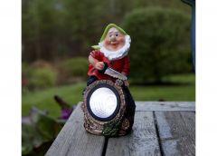 Päikesepaneeliga aiavalgusti Gnomy