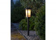 Päikesepaneeliga aiavalgusti Flame