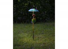 Päikesepaneeliga aiavalgusti Salona