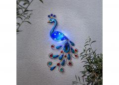 Päikesepaneeliga dekoratsioon Peacock