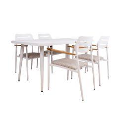 Komplekt WALES laud ja 4 tooli
