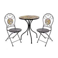 Komplekt MOROCCO laud ja 2 tooli (38682)