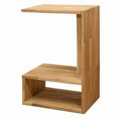 Öökapp-laud Hans, 9932, 65x33xK45 cm, täistammepuidust, õlitatud