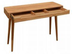 Laud SCANDI, 9285, 110x43xK75 cm, täistammepuidust, õlitatud