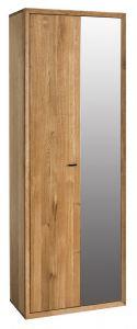 Riidekapp Vigo 01, 70x39xK201 cm, tammepuidust, õlitatud